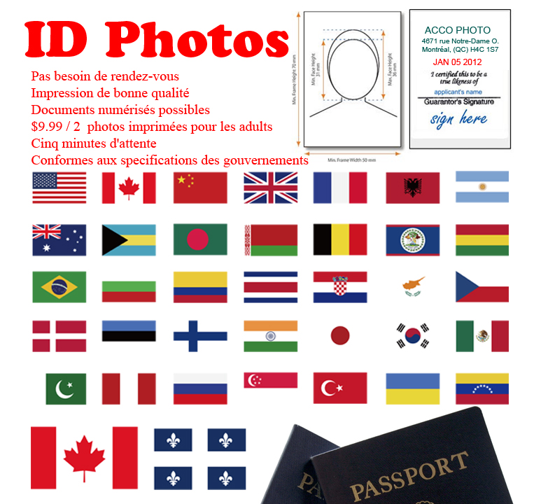 photo passport Montréal