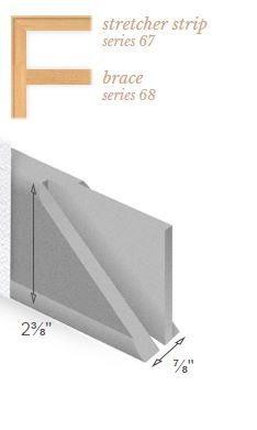 "Standard bars 56"", Series 20, Bundle of 16 bars"