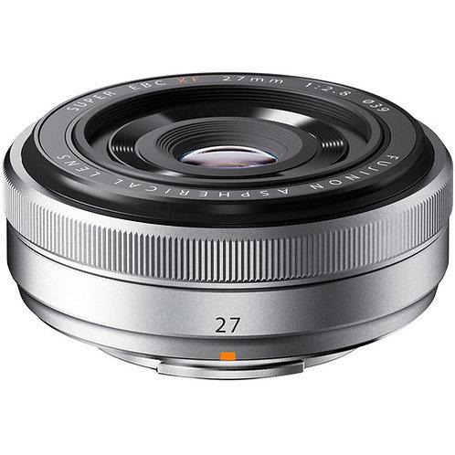 Fujinon Lens XF27mm F2.8 Silver