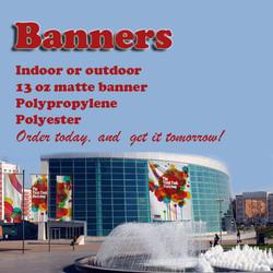 Indoor & Outdoor  Banners