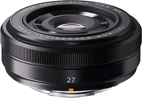 Fujinon Lens XF27mm F2.8 Black