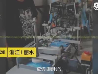 """最硬核""""抗疫""""华侨 为给家乡寄口罩收购了口罩厂"""