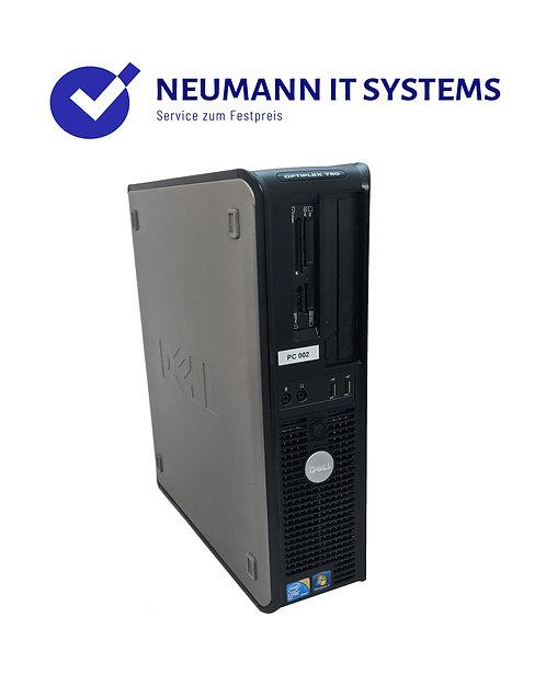 PC DELL Optiplex 780 ✔️4GB RAM✔️256 GB SSD✔️DVD-RW✔️Garantie