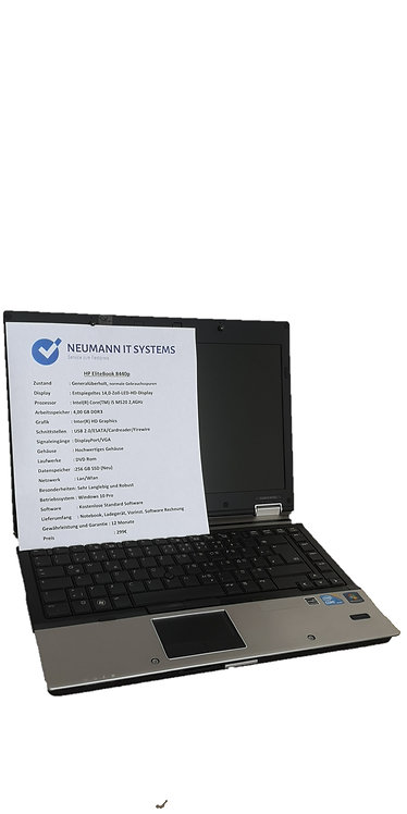 Laptop HP EliteBook✔256 GB SSD Neu✔i5✔Win 10 Pro✔Garantie✔Top✔