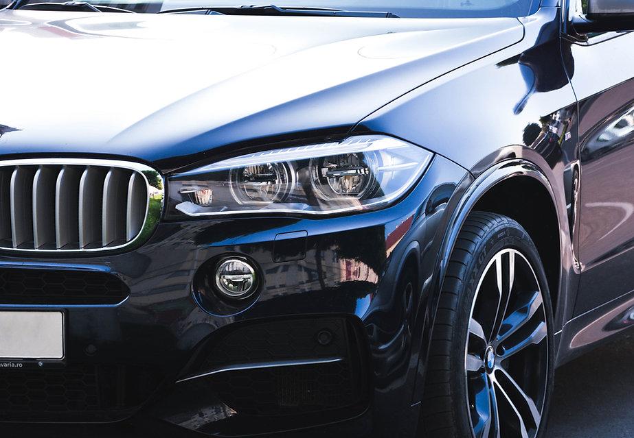 Clean BMW car