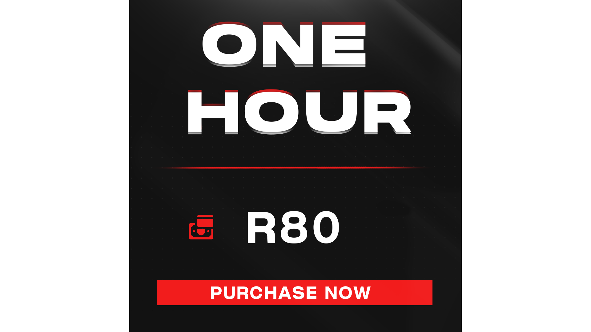 One Hour Gaming + Entrance Fee