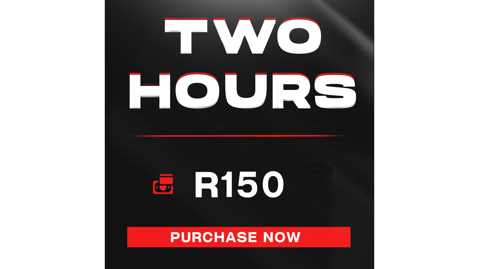 Two Hour Gaming + Entrance Fee