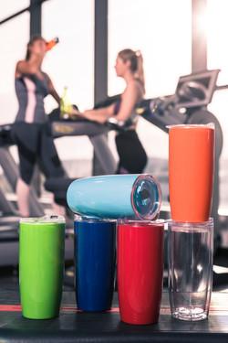 Gym Cups blurred girls (1 of 2)