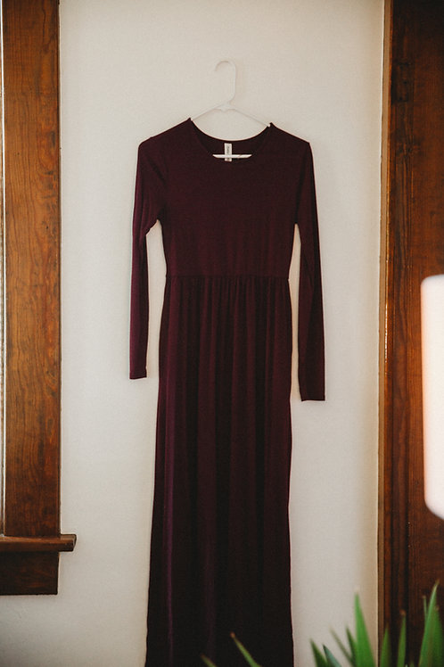 Long Sleeved Maxi