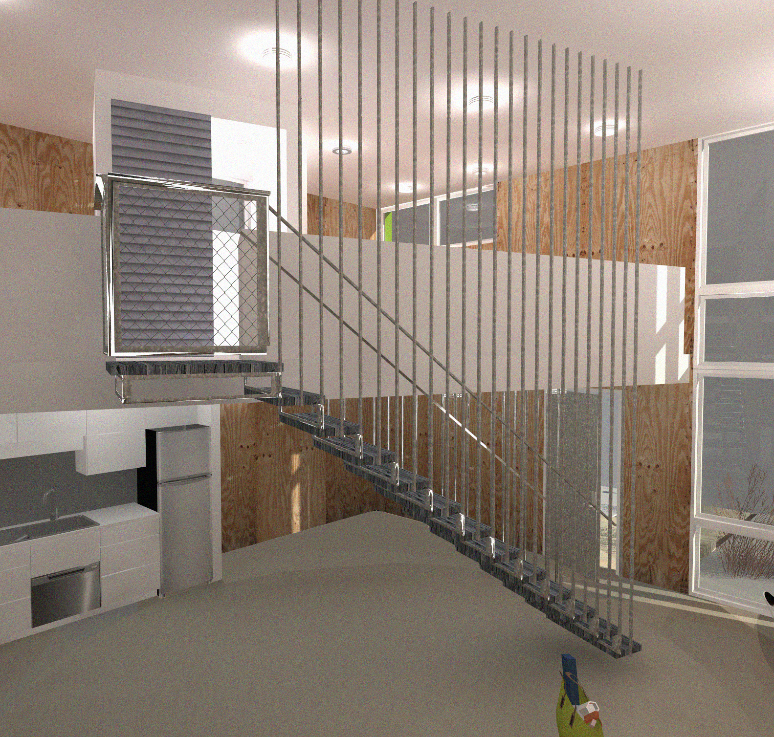 house from rows to dots interior