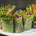 Fresh Salad Rolls  ( 2 Rolls cut in 8 pcs )