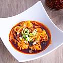Szechuan Spicy Chicken Wonton  ( 6 pcs )