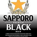 SAPPORO PREMIUM BLACK (JAPAN)   Tin Can 650 ml5.0% ABV.