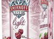 Smirnoff Ice Light Black Cherry & Soda 4 Pack