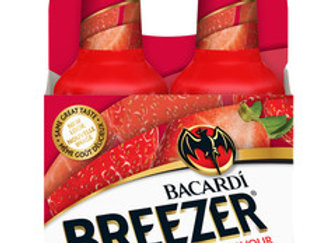 Bacardi Breezer Strawberry Daiquiri 4 Pack