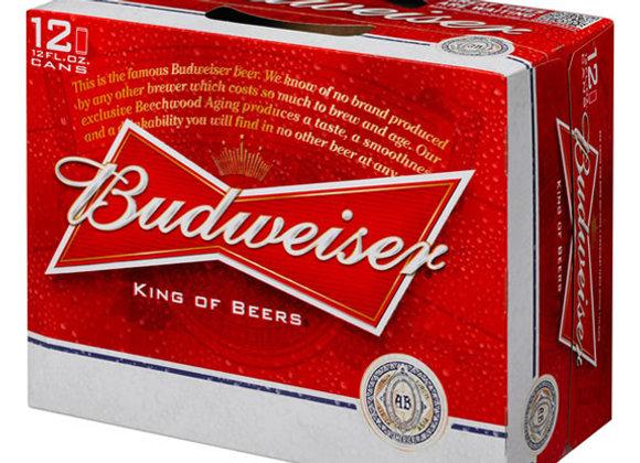 Budweiser 12 Pack Cans