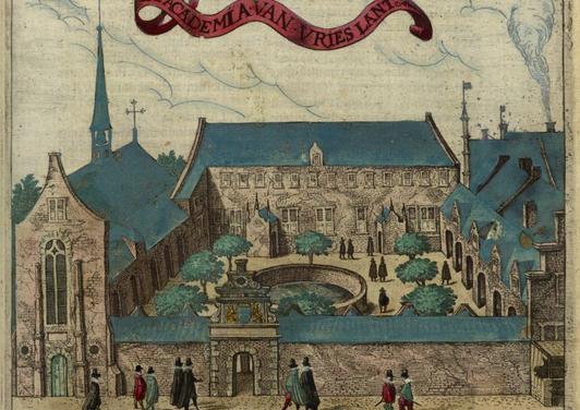 Academia van Vrieslant, Academiestraat