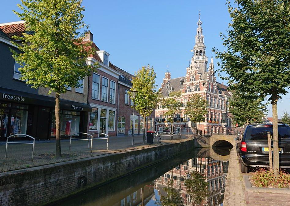 Franeker stadhuis uit 1591