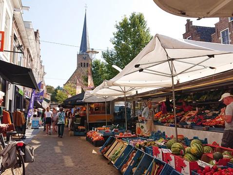 Voorstraat, zaterdagmarkt
