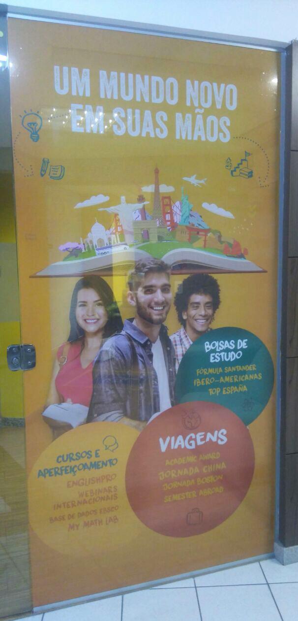 Adesivo Perfurado DeVry Brasil
