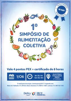 Cartaz Faculdade Ruy Barbosa