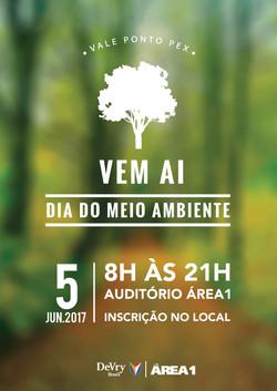 Cartaz Dia do Meio Ambiente