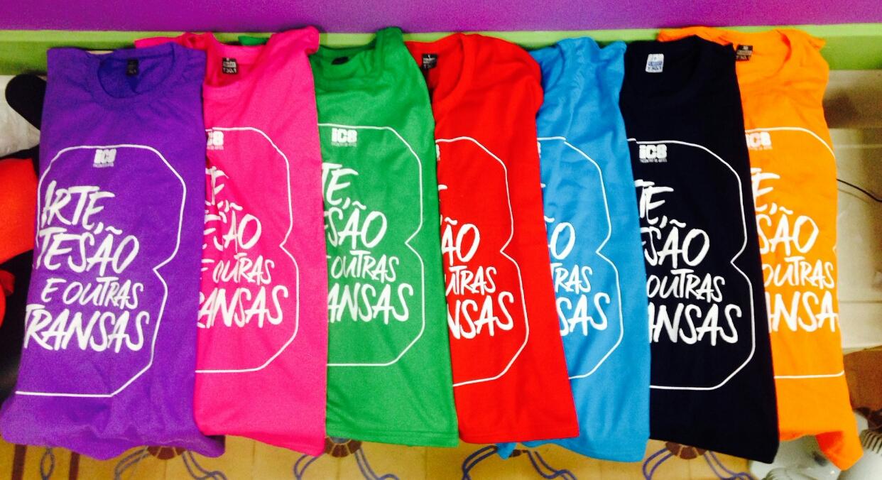 Camisas IC8 - serigrafia
