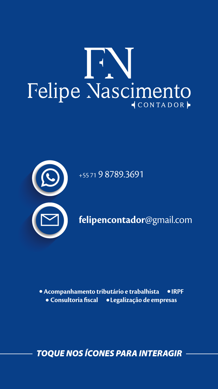 Cartão interativo Felipe