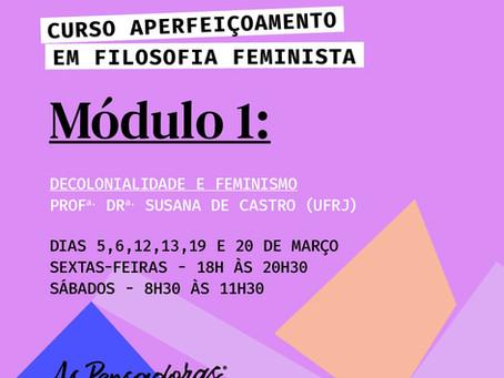 Filosofia, Feminismo e Decolonialidade.