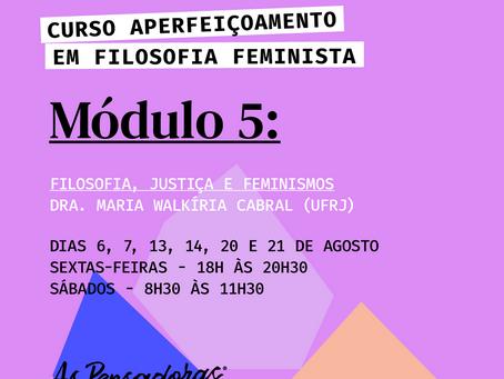 Filosofia Feminista.  Filosofia, Justiça e Feminismos