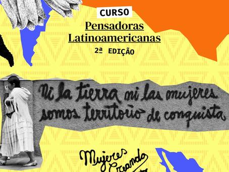 Vem estudar as Pensadoras Latinoamericanas com a gente!