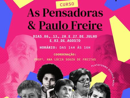 As Pensadoras & Paulo Freire