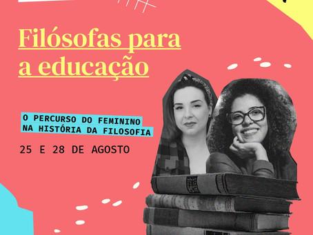 Minicurso Filósofas para a Educação - Escola As Pensadoras