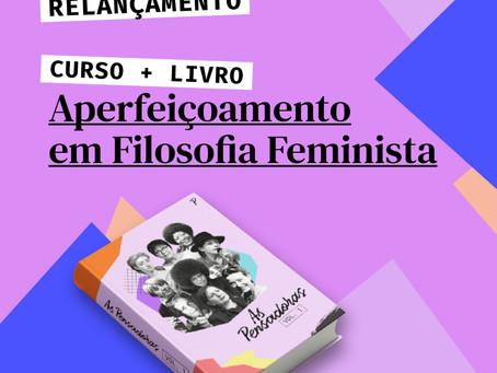 Curso de Aperfeiçoamento em Filosofia Feminista - Garanta sua inscrição e ganhe nosso livro!