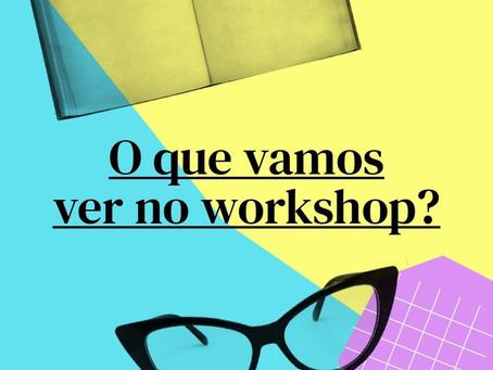 Começa amanhã! Workshop Elaboração de Projetos Acadêmicos - As Pensadoras