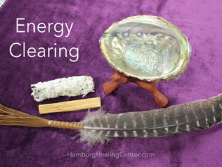 Energy Clearing - Smudging