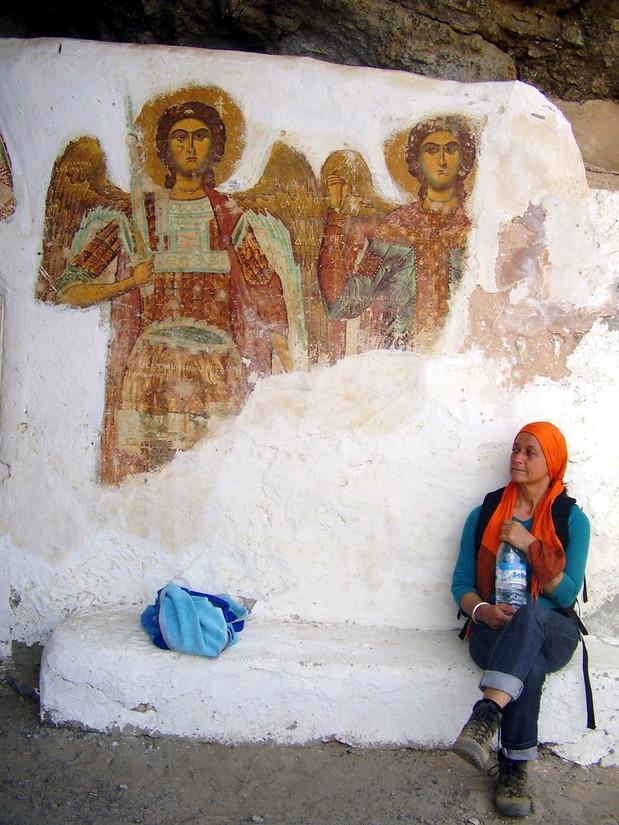 Angels in Agios Ioannis