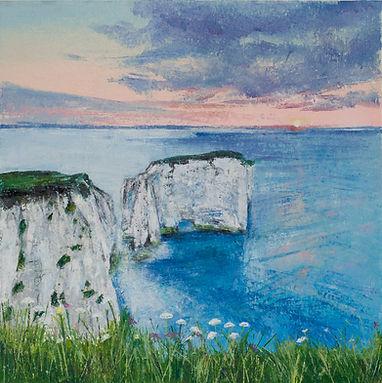 Sophie Jenkins Art - Old Harry Sunrise