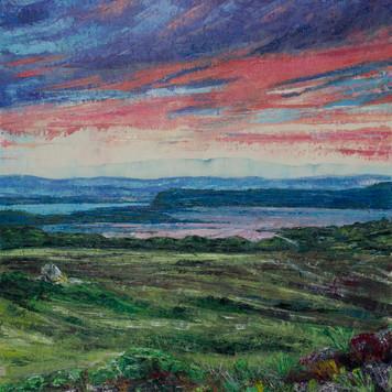 Agglestone Sunset