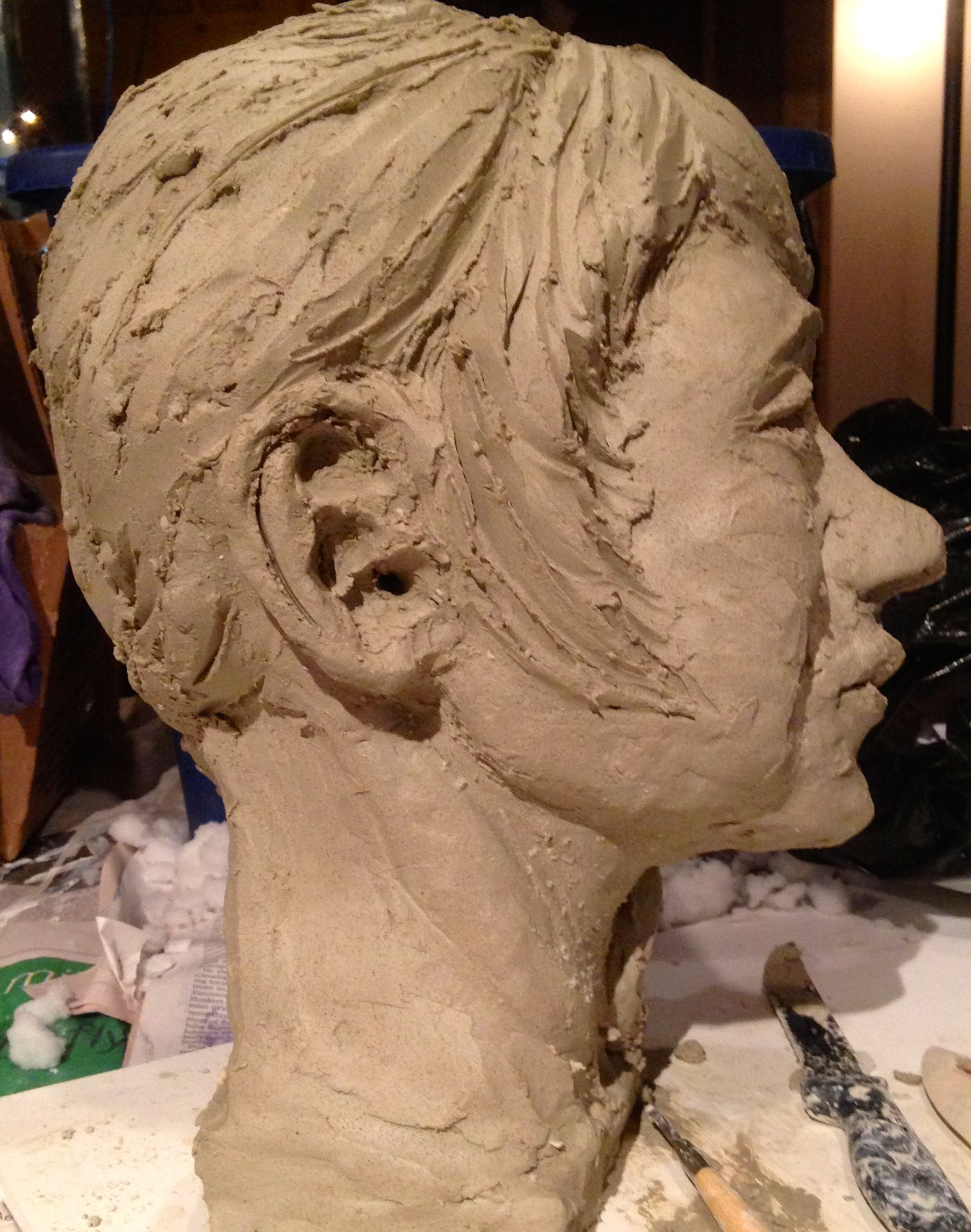 Clay Portrait View 2