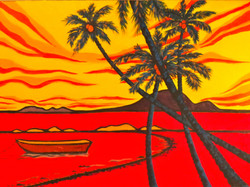 Tropical Sunset-Click for price info