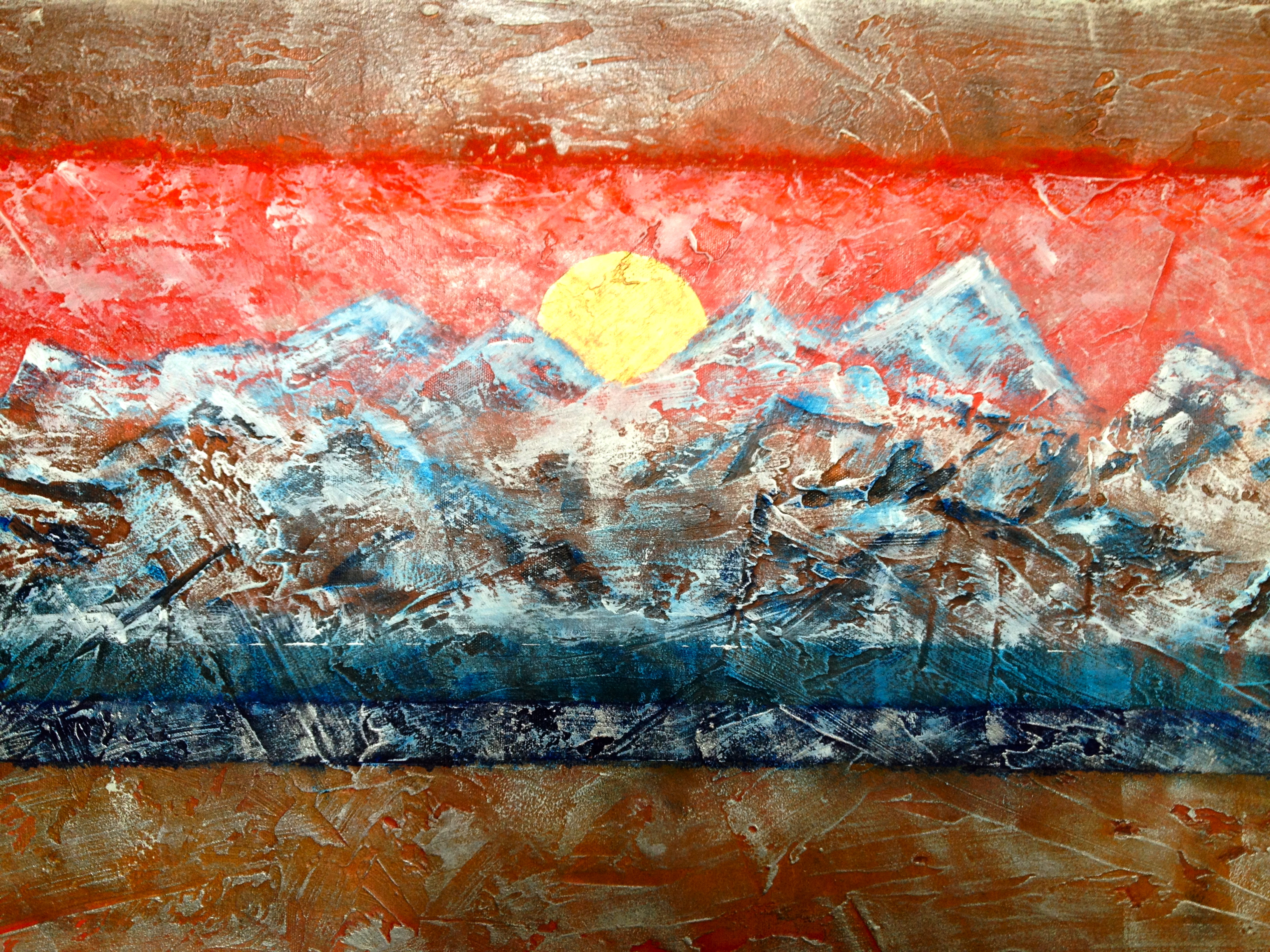 Detail of Stamina I (Sold)