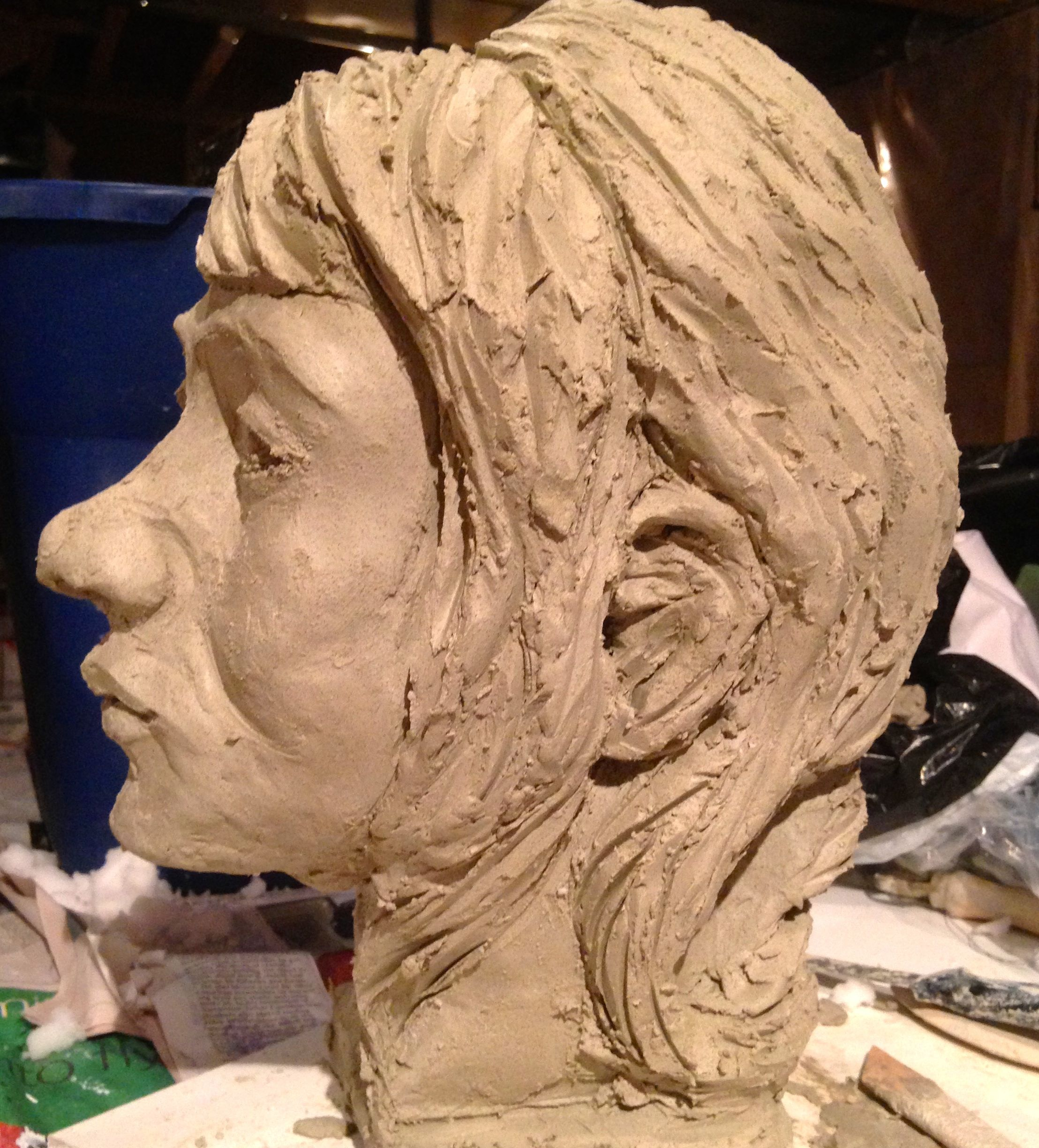 Clay Portrait View 1