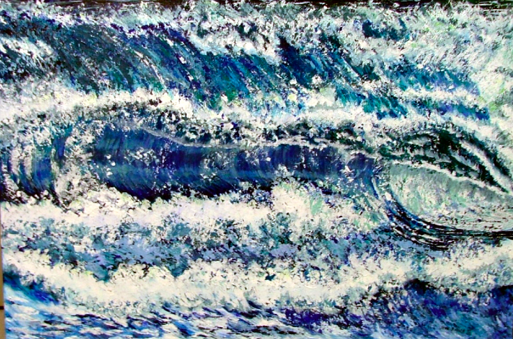 Stormy Seas (Sold)