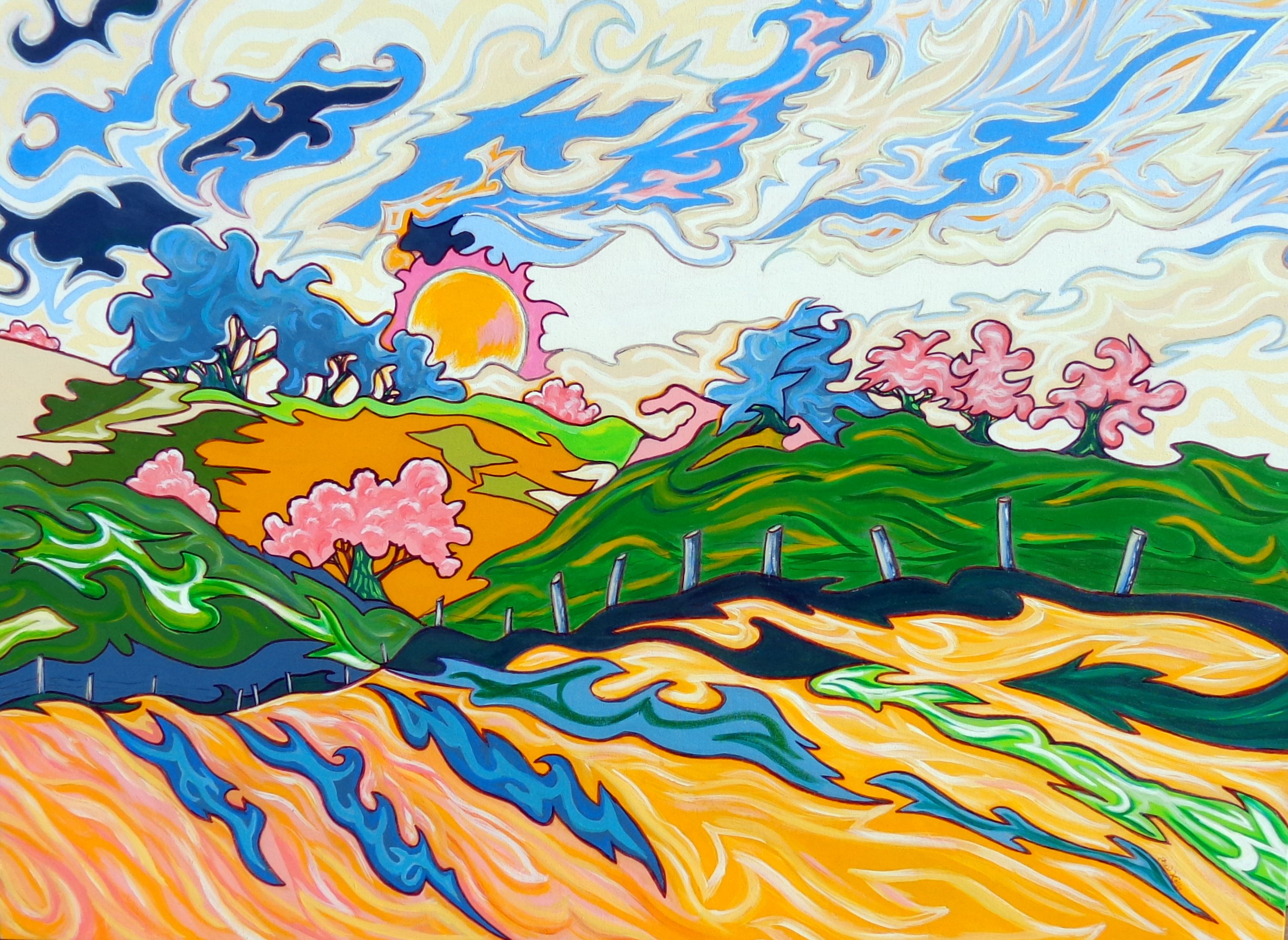 Windswept Prairie (Sold)