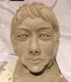 Clay Portrait View 4
