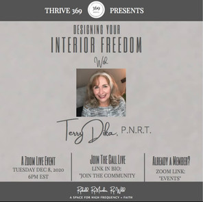 369 COMMUNITY EVENT - DESIGNING YOUR INTERIOR FREEDOM : THE EPIGENETICS OF HEALING FAMILY WOUNDS FOR