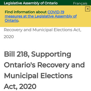 BILL 218 - CALL TO ACTION PT 1