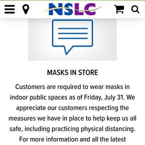 NSLC MASKING VIOLATIONS