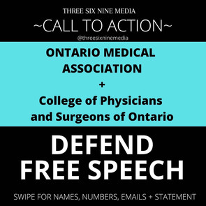 STAND UP FOR BRAVE CANADIAN DOCTORS